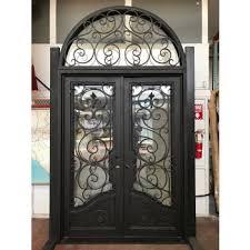 iron front doorsWrought Iron Entry Doors Single  Double Exterior Iron Front