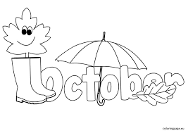 Small Picture Great October Coloring Pages 14 In Picture Coloring Page with