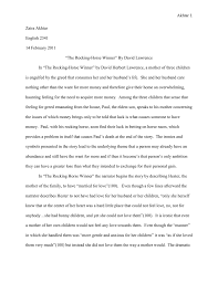 rocking horse winner essay business letter form essays about soccer introduction to literature 009979989 1 4387115aefe424d2fc2428712dd8243d intro to lit essay 1 english 2341 introduction to lit rocking horse winner essay