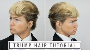 How Todo Hair Style donald trump hair tutorial youtube 4138 by wearticles.com