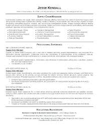 executive cover letter for resume supply chain management cover letter resume tutorial pro