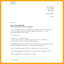 Complaint Letter Format For Poor Service Reluctantfloridian Com