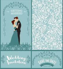 wedding book cover template wedding card template groom bride icons classical design free vector