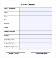 Party Proposal Template Magnificent Sample Event Proposal Template 48 Free Documents In PDF Word