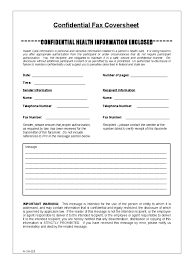 fax cover sheet templates in pdf word excel confidential fax cover sheet sample