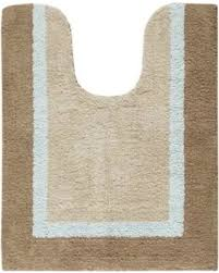 madison park striped contour bath rug blue contour bath rug s45
