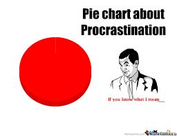 Pie Chart Of Procrastination Pie Chart About Procrastination By Eskamobob1 Meme Center