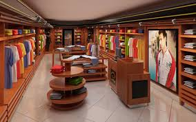 Clothing Store interior for Men and Women Render Ready 3D model