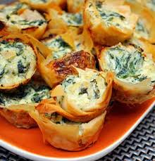 recipe for spanakopita bites greek spinach pie bites spanakopita bites are mini phyllo pastry ss filled with a delicious spinach and feta cheese