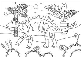 Gigantspinosaurus Kleurplaat Gratis Kleurplaten Printen