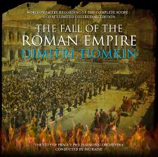 fall of the r empire issued by prometheus  cover for cd booklet