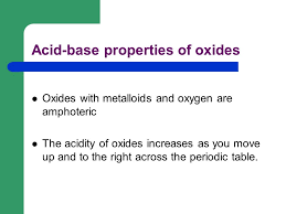 Acid Base Definitions Originally recognized by properties like ...