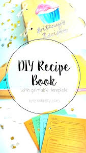 recipe book formats cookbook templates vector free premium recipe book format