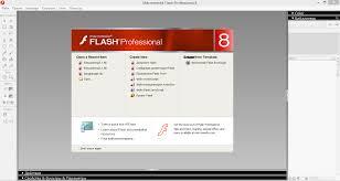 отчет Открываем macromedia flash 8
