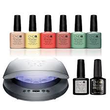 Buy <b>cnd Shellac Open Road</b> Starter Kit Led Lamp Gel Colours Base ...