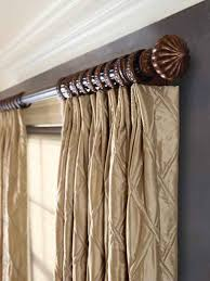 architecture stylish decorative curtain rods pertaining to kirsch renaissance wooden master in white inspirations 10 front