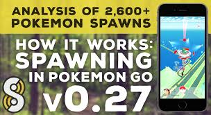 Pokemon Go Spawn Rarity Chart How Spawns Work In Pokemon Go Research From The Silph Road