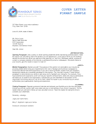 Formal Cover Letter Template Good Resume Format