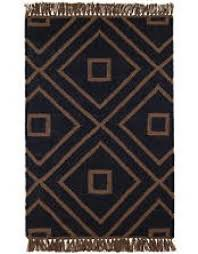 mali black indoor outdoor rug 3x5