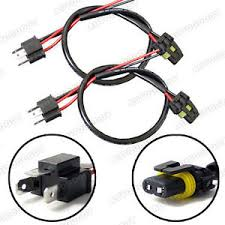 h4 9003 hb2 wire harness for hid ballast to stock socket connector HID Ballast Wiring Diagram at Hid Ballast To Stock Wiring Harness