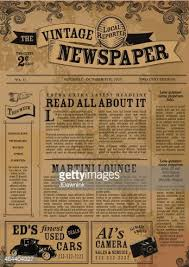 Vintage Newspaper Template Free Vintage Newspaper Template Google Search Design Pinterest