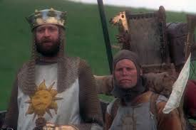 knights of the round table king arthur s costume in monty python and the holy grail