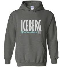 Newfoundland Iceberg Hoodie Canada Hoodies Sweatshirts