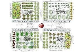 Garden Layout Template Best Garden Layout Thelatebloomer Info