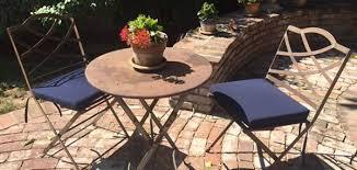 custom chair cushions are a quick dry convenience with sunbrella rain canvas navy