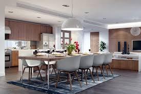 image of modern dining room sets white