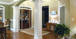 Dining Room Columns Home Interior Decorating Ideas Best Photos Column Trim  On Dining Room