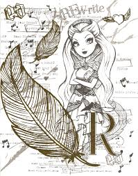 Small Picture Coloring Pages Ever After High Thronecoming Ever After High Color