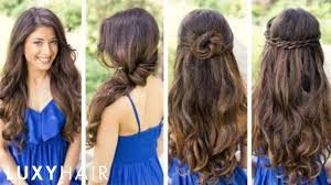 Luxy Hair Style cute and easy hairstyles youtube 2679 by wearticles.com