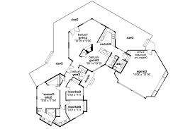 Plan 72494DA Hexagonal House Plan With Vaulted Great Room  House Hexagon House Plans