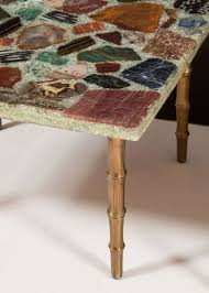 Pair Of Semi Precious Stone Inlay Side Tables In 2019 Apartment