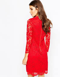 Ted Baker Ameera Red Lace Dress