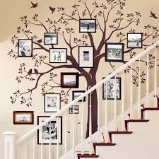 huge family tree wall decal vinyl stickers decor staircase family tree decal wall decal sticker baby nursery murals wall stickers decor wall stickers