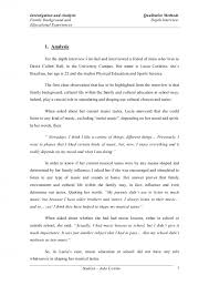 003 How To Write Interview Essay Samples Examples An Example Format
