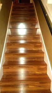 how to install vinyl plank flooring on stairs stair nose cap laminate in treads with out