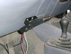 brake controller installation starting from scratch etrailer com quest trailer brake controller wiring diagram brake controller sitting flush on the lower right side of the dash