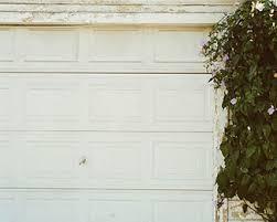 rosie on the house old garage door