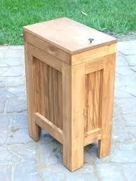 tilt out trash bin cabinet outdoor trash can holder trash can cabinet image of wood trash