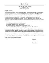 Best Media Entertainment Cover Letter Examples Livecareer