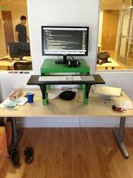 scott nixon on stand up deskdesk
