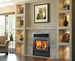 Galaxy Zero Clearance Semi-Classic Wood Burning Fireplace Insert