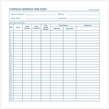 Monthly Time Card Template Monthly Timesheet Template Cycling Studio