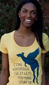 Wikipedia T Shirt I Like Wikipedia Cuz It Lets You Make Stuff Up T Shirt