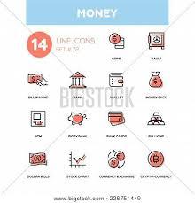 Money Line Design Vector Photo Free Trial Bigstock