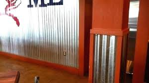corrugated metal interior walls garage r metal walls wall covering cover and decorate the how to corrugated metal interior walls