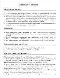 sample academic cv template 8 download documents in pdf word sample academic resume